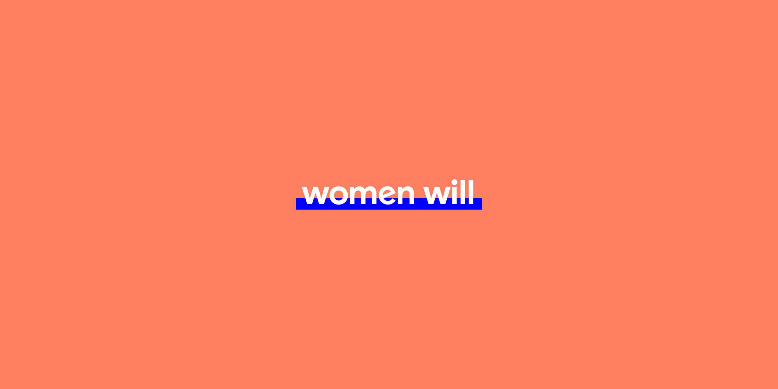 Womenwillbanner